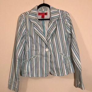 Mossimo Striped Blazer